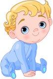 Śliczny pnący dziecko Fotografia Royalty Free