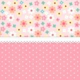 Śliczny podławy modny kwiecisty tło dla twój dekoraci Zdjęcie Stock