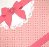 Śliczny prezenta pudełko Fotografia Stock