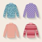 Śliczny puloweru set Zdjęcia Stock