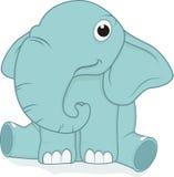 Śliczny słonia obsiadanie Fotografia Royalty Free