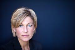 Śliczny scandinavian kobieta portret fotografia stock