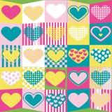 śliczny tła valentine Fotografia Royalty Free