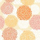 Śliczny unikalny kwiecisty jesień wzór Obrazy Royalty Free