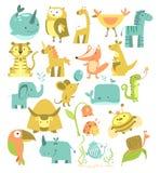 śliczny zwierzę set Fotografia Stock
