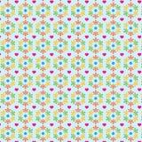 Ślicznych flor tła Abstrakcjonistyczny wzór Fotografia Royalty Free