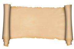Ślimacznica średniowieczny pergamin Zdjęcia Stock