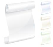 ślimacznica papierowy biel ilustracja wektor