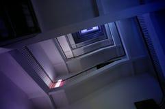ślimakowaci niebo schodki Zdjęcia Stock