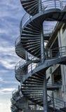 Ślimakowaci schodki Zdjęcie Stock