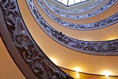 Ślimakowaci schodki Watykańscy muzea zdjęcie stock