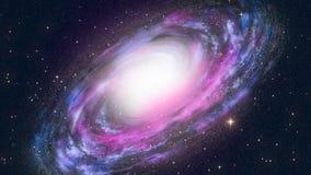 Ślimakowata galaktyka ilustracji
