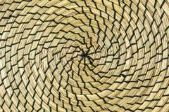 Ślimakowata słoma textured tło zdjęcia royalty free