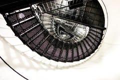 Ślimakowaty schodek wierzchołek łowiecka wyspy latarnia morska Zdjęcia Royalty Free