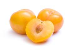 śliwki kolor żółty Zdjęcie Royalty Free