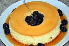 śliwkowy pudding Obraz Royalty Free