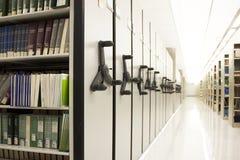 Ślizgowe półki izbowe Fotografia Stock