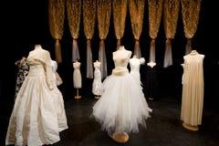 Ślub suknia Zdjęcia Royalty Free