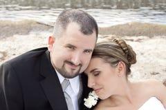 Ślubna błogość Zdjęcia Royalty Free