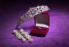 Ślubna biżuteria Obraz Stock