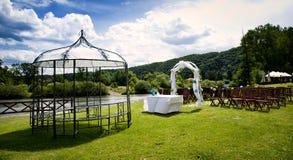 Ślubna ceremonia Fotografia Royalty Free