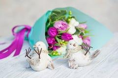 Ślubna dekoracja piękny delikatny kwiatu bukiet Zdjęcie Royalty Free
