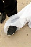 Ślubna katastrofa Obrazy Royalty Free