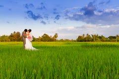Ślubna para obrazy stock