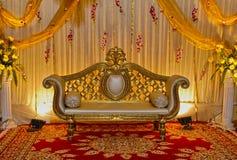 Ślubna scena zdjęcie stock