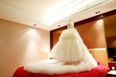 Ślubna suknia Zdjęcia Stock