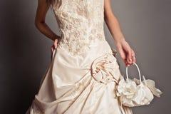 Ślubna suknia 1322 zdjęcie royalty free
