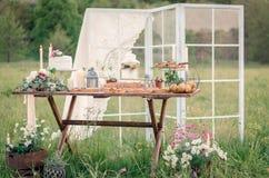 Ślubne dekoracje zdjęcia stock
