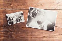 Ślubne fotografie obrazy royalty free
