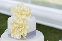 Ślubnego torta szczegół Obraz Stock