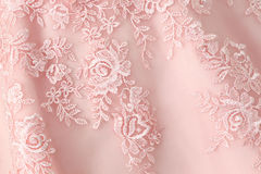 Ślubnej sukni tekstura Zdjęcie Royalty Free