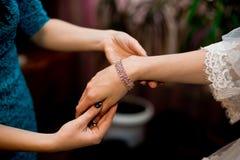 Ślubni akcesoria dla panny młodej zdjęcia royalty free