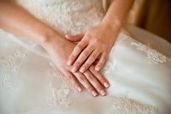 Ślubni akcesoria dla panny młodej obraz royalty free