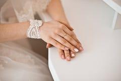 Ślubni akcesoria, panna młoda obraz royalty free