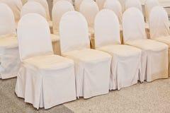 Ślubni krzesła Fotografia Stock