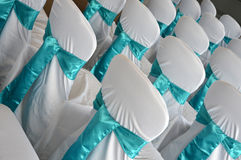 Ślubni krzesła Obrazy Stock