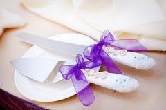 Ślubni naczynia Zdjęcie Stock