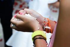 Ślubni ryż Fotografia Royalty Free
