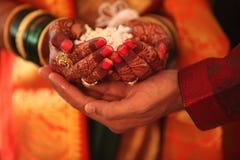 Ślubni rytuały zdjęcie stock