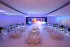 Ślubni stoły Fotografia Stock