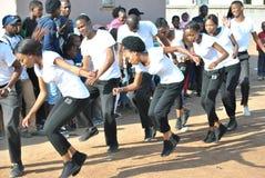 ŚLUBNI tancerze zdjęcie royalty free