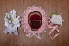 Ślubni temat, symboliczny miłość i romans zdjęcia royalty free