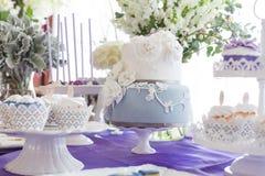 Ślubni torty obrazy stock