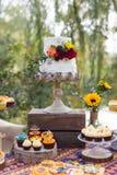 Ślubni torty obrazy royalty free