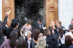 Ślubny świętowanie, Włochy Fotografia Stock