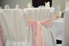 Ślubny bankieta stołu położenie Fotografia Royalty Free